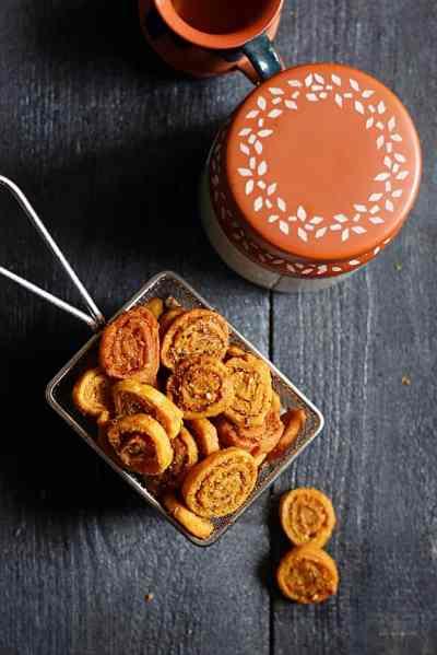 Bhakarwadi recipe | How to make bhakarwadi | Maharastrian Bhakarwadi recipe