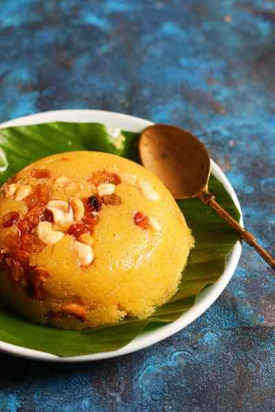 Rava kesari bath recipe | Karnataka style kesari bath recipe