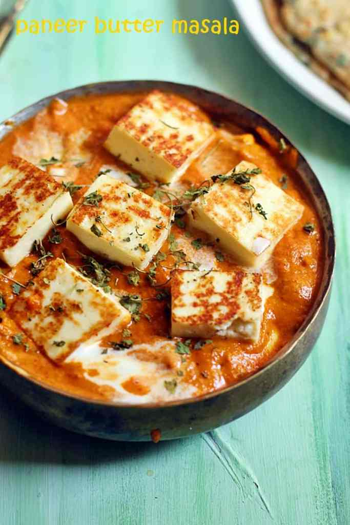 paneer butter recipe restaurant style