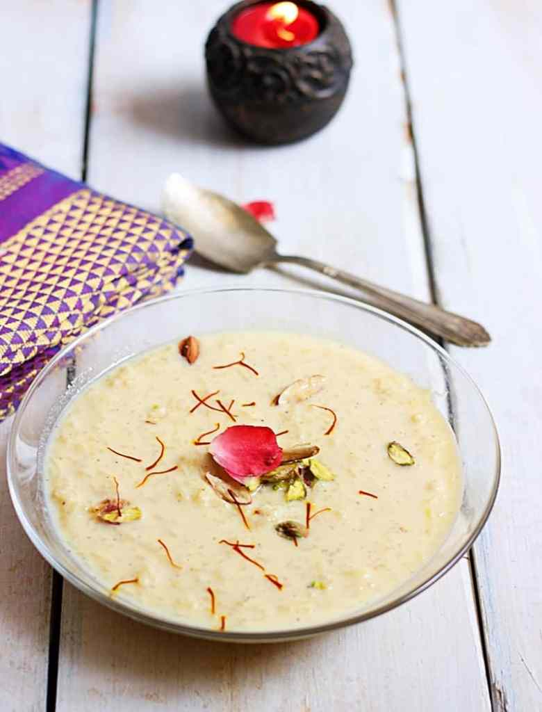 rice kheer recipe step 5