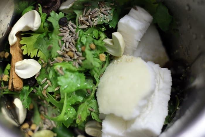 vegetable saagu recipe step 1