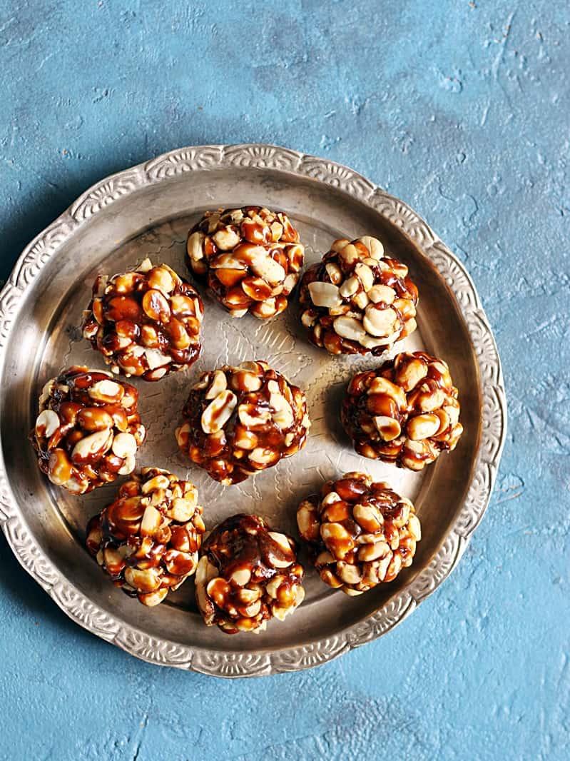 peanut chikki recipe step 7