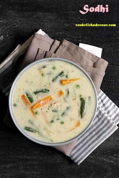 Sodhi recipe | Tirunelveli sodhi kuzhambu for appam, idiyappam, rice