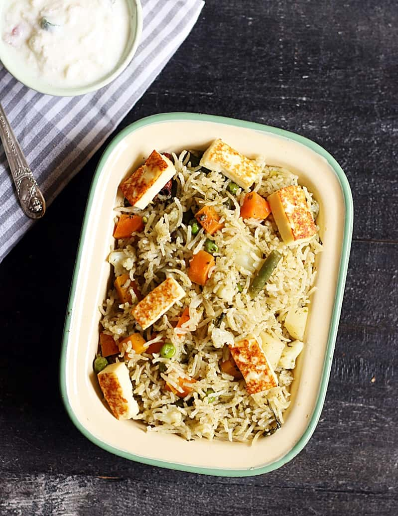 veg biryani restaurant style recipe c