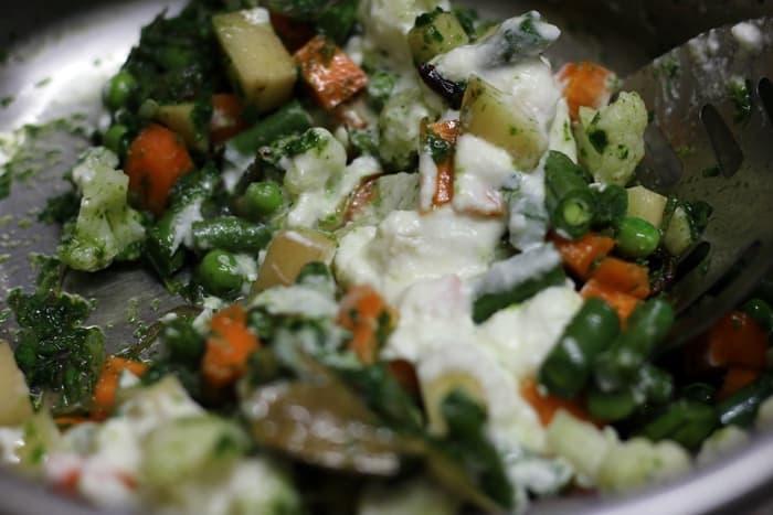 veg biryani restaurant style recipe step 5