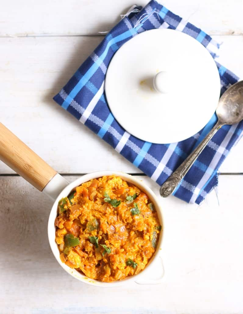 veg kheema masala recipe step 6