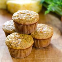 Carrot Pineapple Paleo Muffins