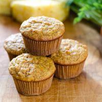 Carrot Pineapple Paleo Muffins
