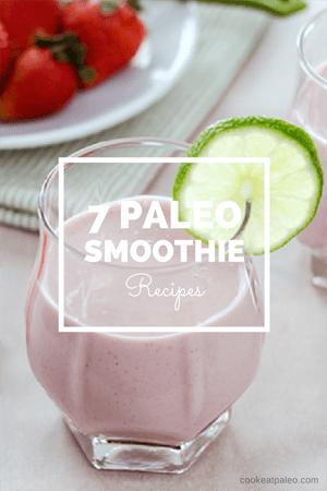 Paleo Blueberry Muffin Smoothie/Shake