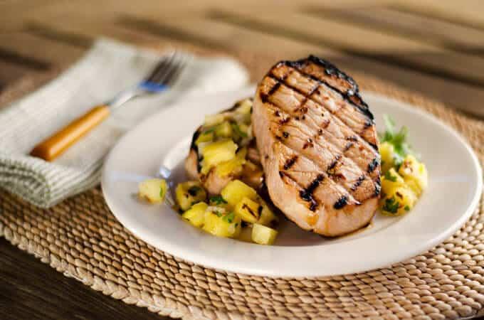 Paleo Summer Grilled Pork Chops