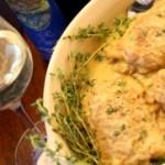 Recipe: Chicken braised in mustard