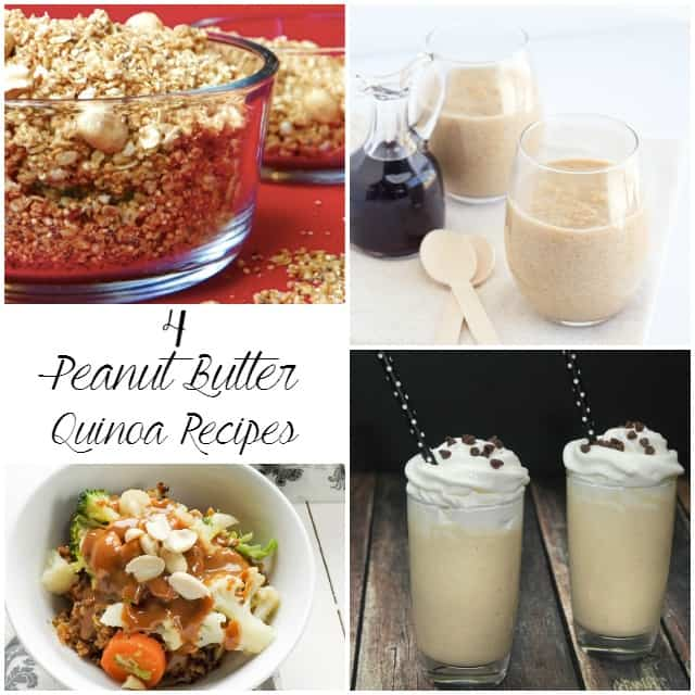 Maple Peanut Butter Quinoa Pudding - sweet and creamy pudding stuffed full of quinoa. This is a somewhat healthier peanut butter treat!
