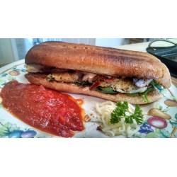 Small Crop Of Chicken Parmesan Sandwich