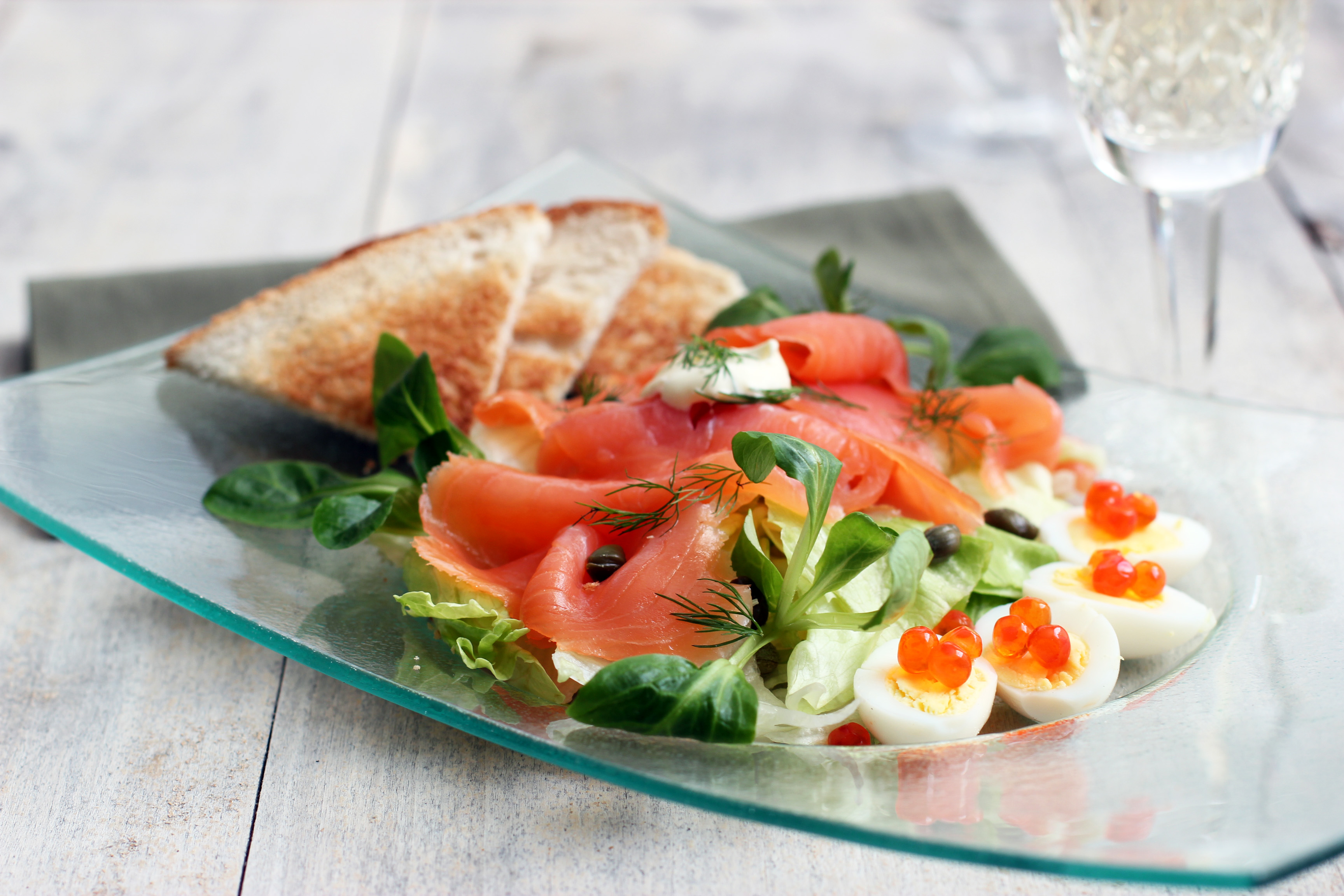 Fullsize Of Smoked Salmon Salad