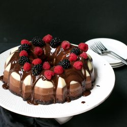 No Bake Three Chocolate Cake Recipe Cooking Lsl