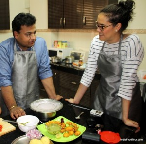 indian cooking class with chef