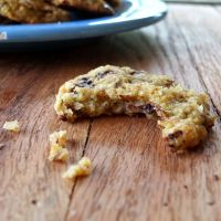Plantain Chocolate Chip Cookies