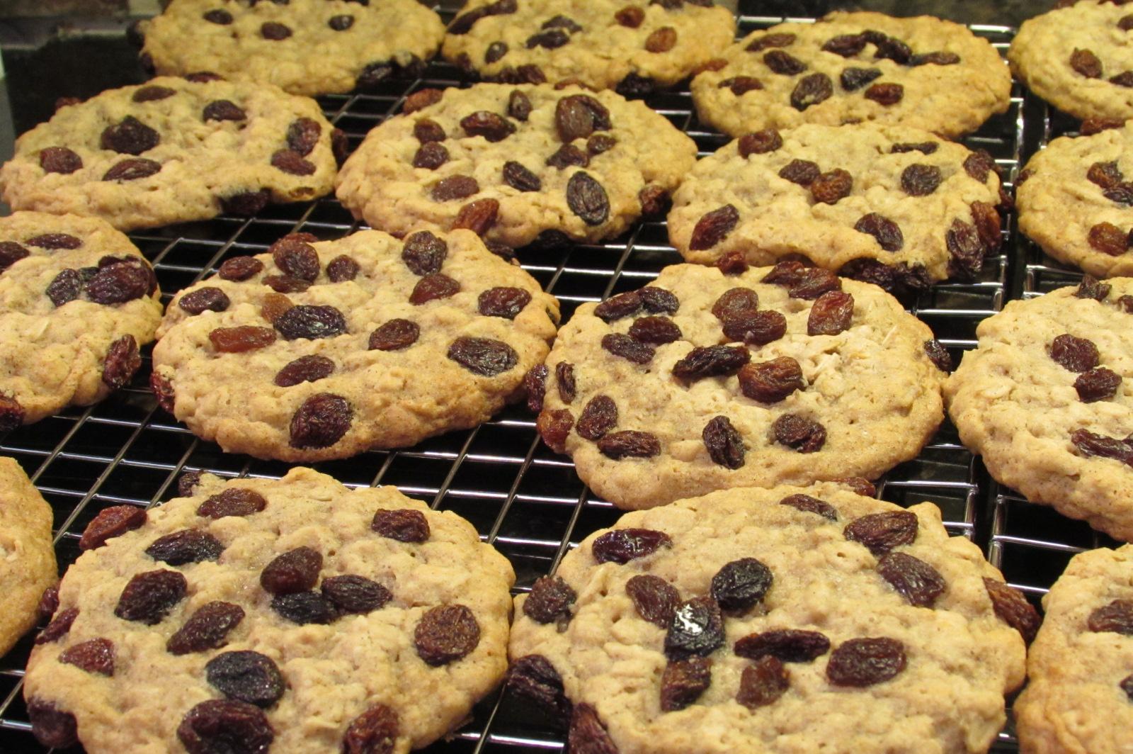 Fullsize Of Quaker Oatmeal Raisin Cookies