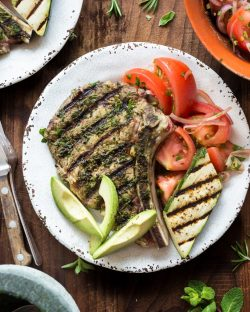 Sweet Herbed Veal Chop Paleo Primal Gourmet Grilled Steak Easy Recipe Herbed Veal Chop Primal Gourmet Veal Chop Recipes Gordon Ramsay Veal Chop Recipes Pan Fried