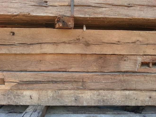 Oak Hand Hewn Beam