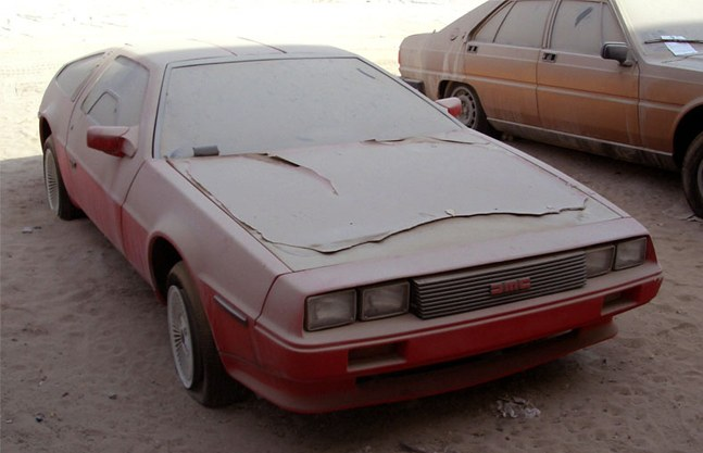 Abandoned Luxury Cars of Dubai :: via Cool Material