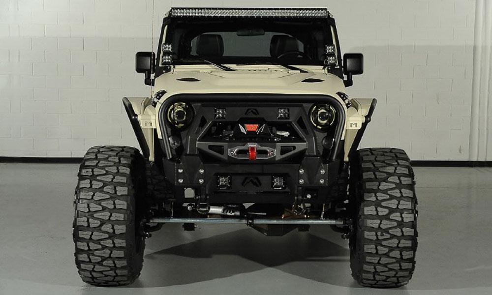 Starwood Motors Custom Jeep Wrangler Bandit Cool Material