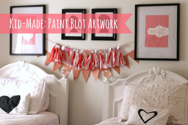 Paint Blot Artwork Made By Kids! - (cool) progeny