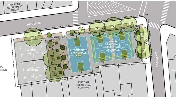 Jackson Playground reconstruction begins