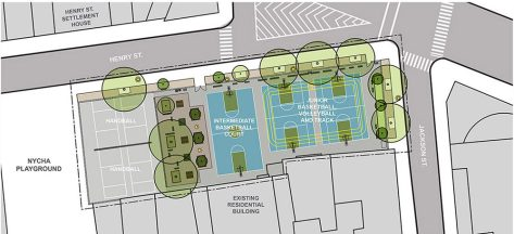 Schematic for Henry M. Jackson Playground Reconstruction