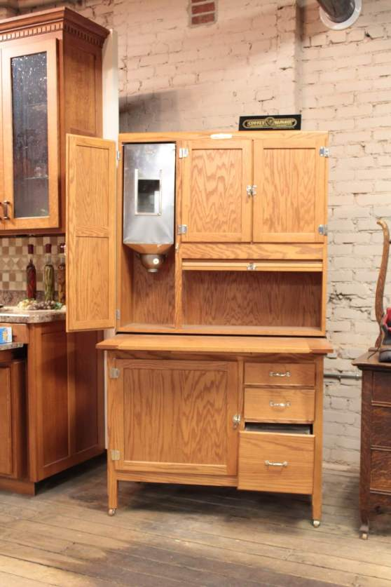 Custom Built Cabinets And Hoosier Cabinet Restoration In