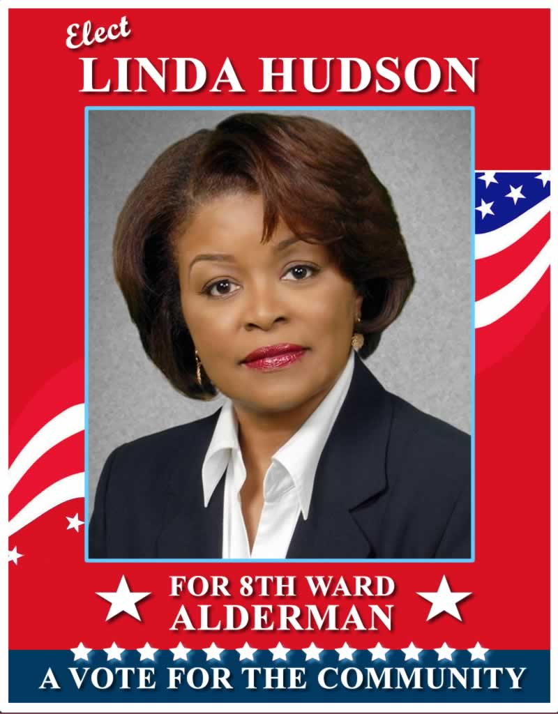 Elect Linda Hudson for Chicago 8th Ward Alderman