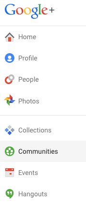 Google+ Communities - image