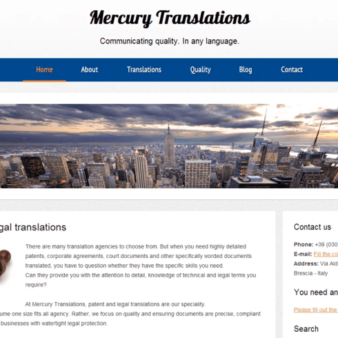 website copywriting for consultancies
