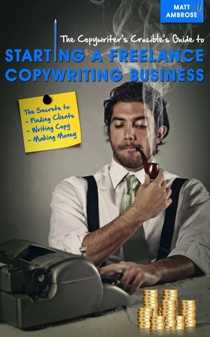 how to start a copywriting business sidebar