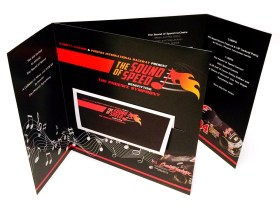 Phoenix Symphony, Sound of Speed Invitation - designed by Corbin Snyder