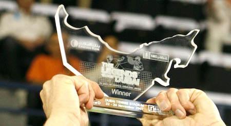 paul haarhuis - dubai - trophy