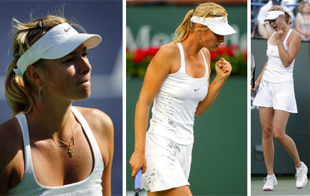 Maria Sharapova - Indian Wells 2008