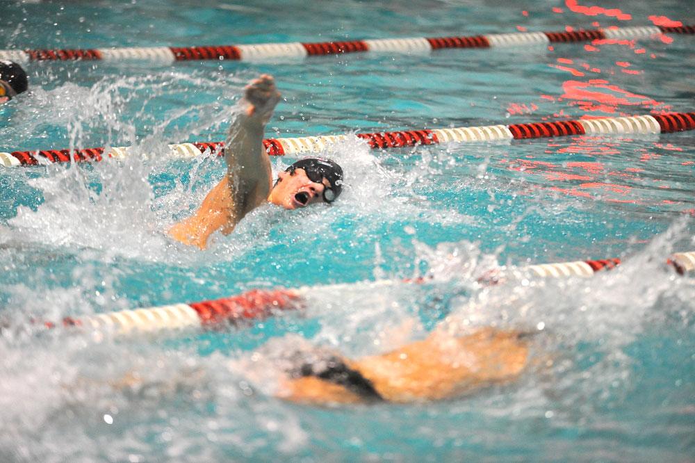 Men S Swimming And Diving Swim And Dive Open Season At U Of Buffalo
