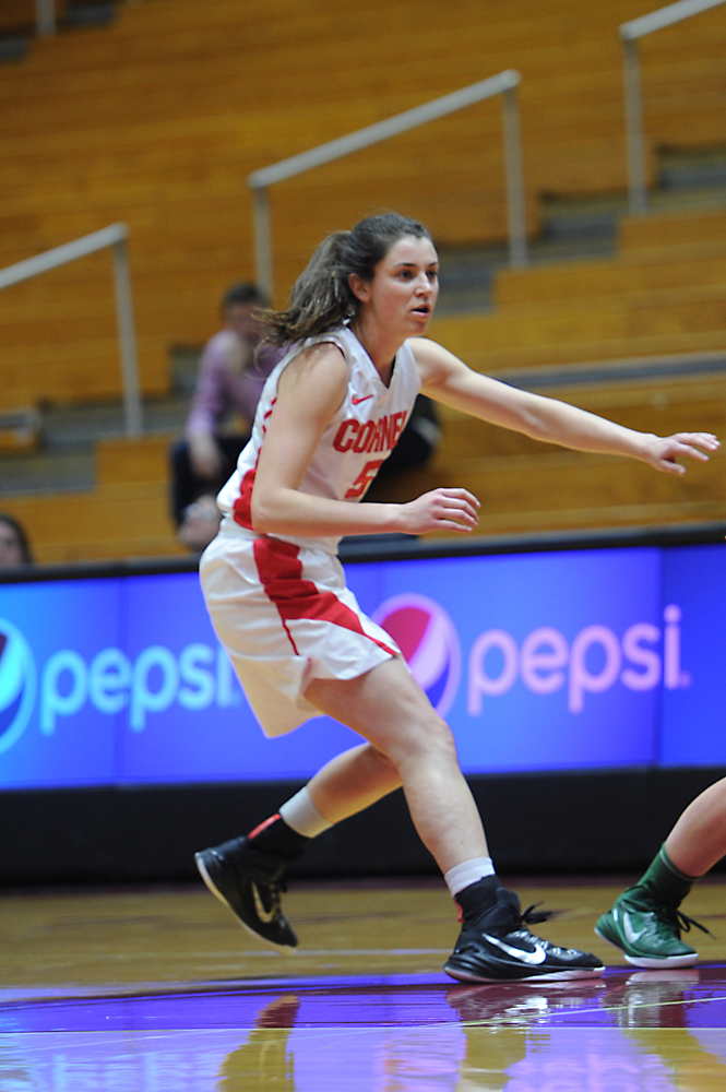 In her last game in a Cornell uniform, senior guard Maddie Campbell notched 22 points