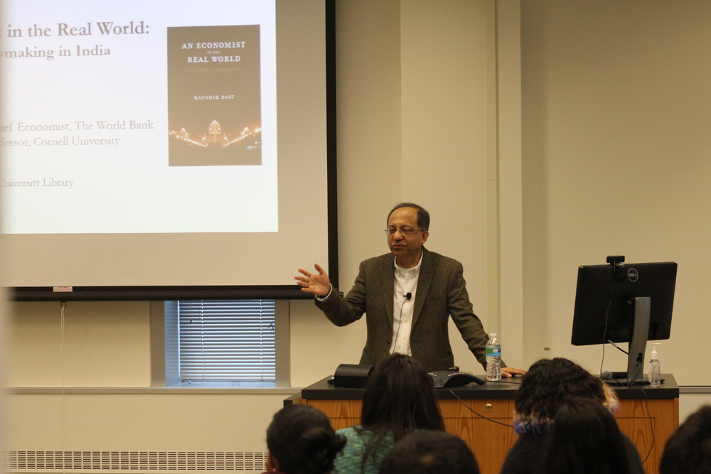 Prof. Kaushik Basu, economics, describes adjusting to life in India.