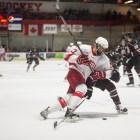 The Red has played No. Quinnipiac twice this season losing once and playing to a draw.