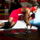 In his last match for Cornell wrestling, senior Nahshon Garrett won the national championship at 133-lb, completing a perfect season.