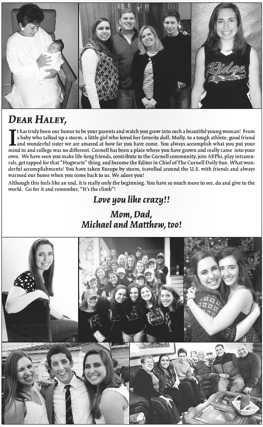 Full Page Senior Send-off