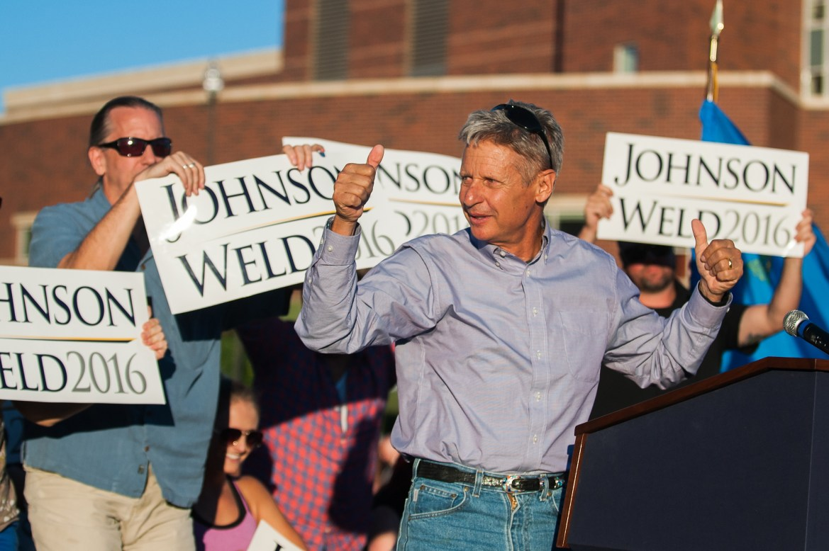 Cornell Republicans announced Friday that they will endorse Libertarian candidate Gary Johnson for president.