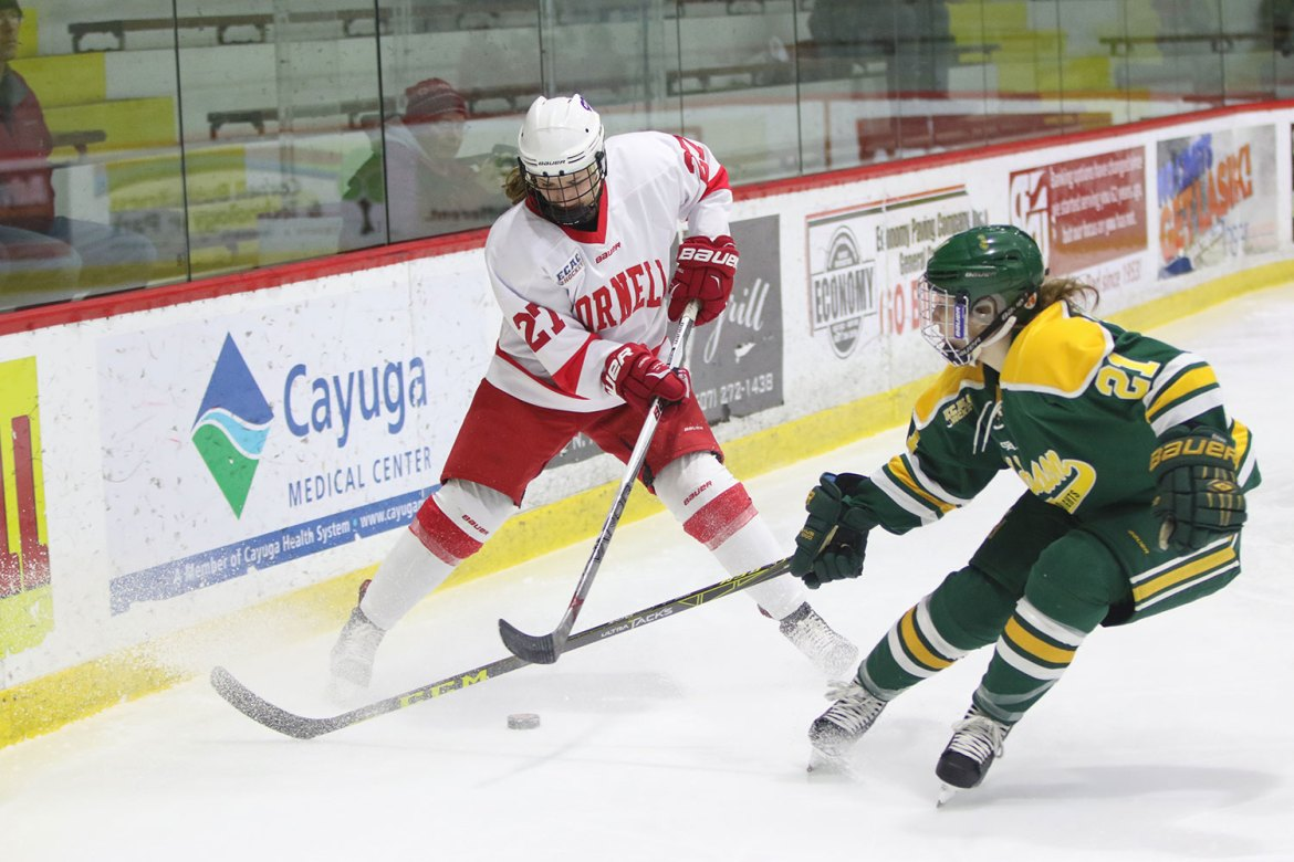 Kaitlin Doering's goal in the third period on Saturday helped put away Union for good.