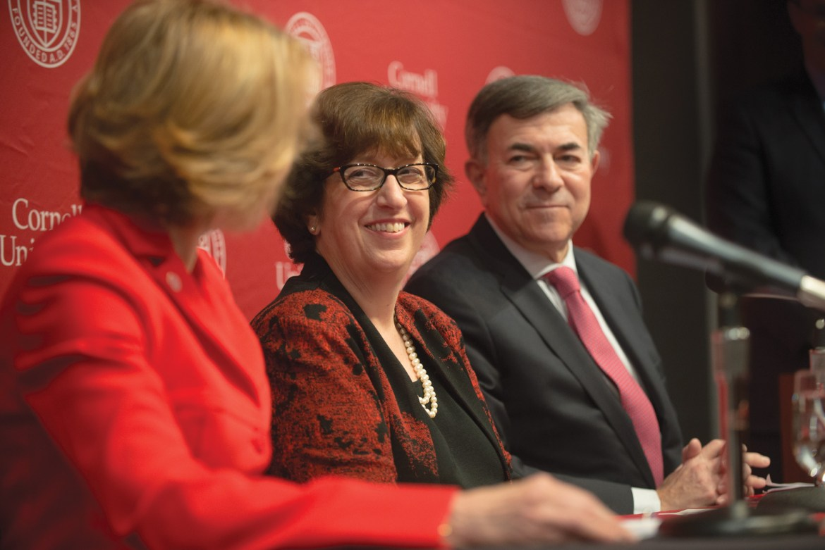 Cornell President-elect Martha Pollack's colleagues at the University of Michigan spoke positively about her impact on the university's computer science program and student life.