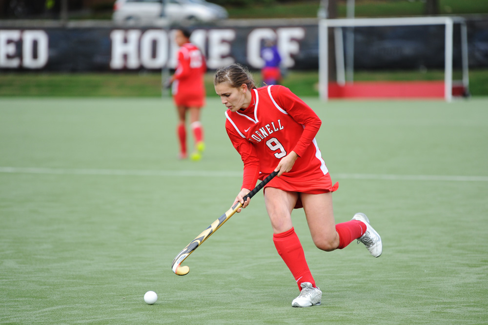 Luisa Schulte-Bockum and the other two Cornell seniors will play their final game for the Red this weekend.