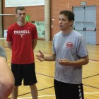 Men's basketball head coach Brian Earl starts his first season for Cornell after serving as an assistant at Princeton.