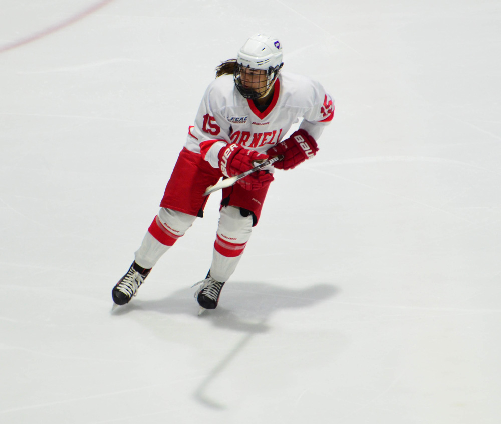Pippy Girace scored the go-ahead goal in the Red's victory over Princeton.