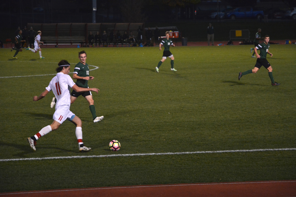 The men's soccer team will play its final game of the season this weekend against Columbia.
